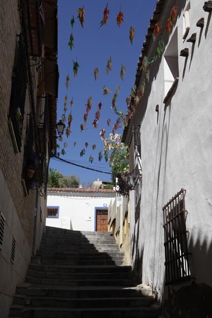 Treppenaufgang in Toledo