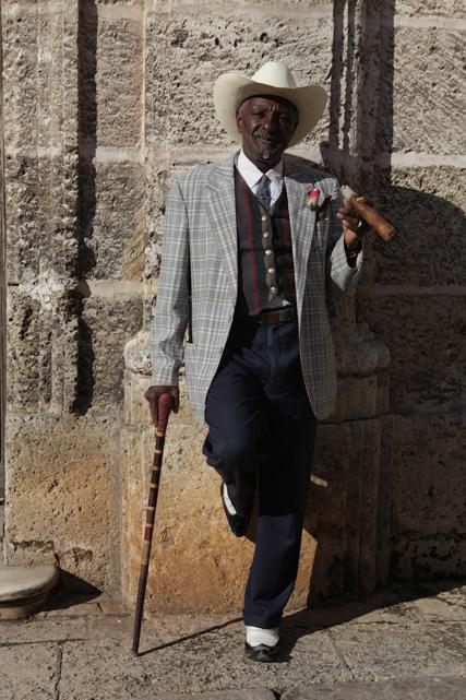 Cigaristo en Havana