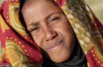 junge Frau in den Simien Bergen