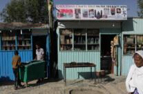 Geschäfte in Axum