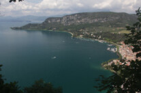 Blick über Garda