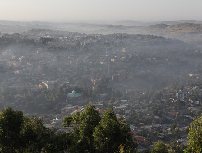 Gondar in the mist