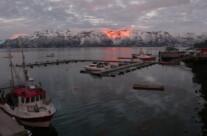Hafen von Lyngseidet