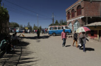 Strassenszene in Lalibela