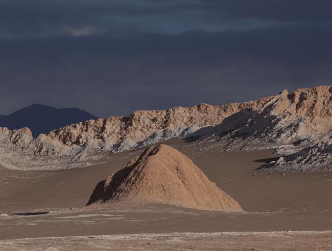 Mondlandschaft, Valle de la Luna