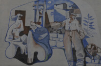 Wandmalereien in Orgosolo