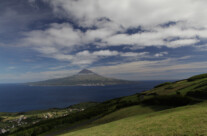 Sicht auf Pico, Faial