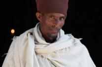 Priester der Felsenkirche Asheten Maryam