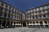 Plaza de la Constituciòn in San Sebastiàn
