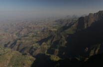 Am Rand der Simien Berge