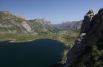 Stausee Lago de Valle