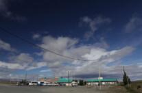 Roadhouse in Patagonien
