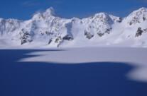 auf dem Gletscher Richtung Tafeltinden