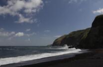 wilde Küste, São Miguel