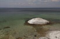 small lake volcano