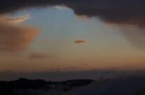 Wolkendurchbruch