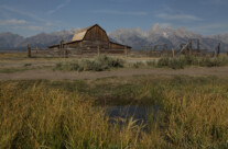 Farm and Grand Tetons