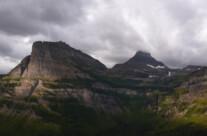 Rock in Glacier NP