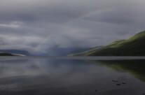 Rainbow over Lake Mc Donald
