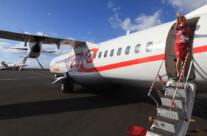 plane to paradise