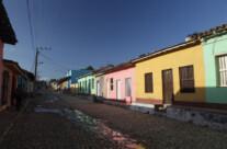 calle en Trinidad