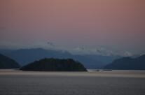 Lago Nahuel Huapi, madrugada